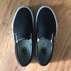Vans Black Canvas Sneakers Unisex